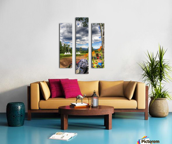 Rest with a View Canvas print