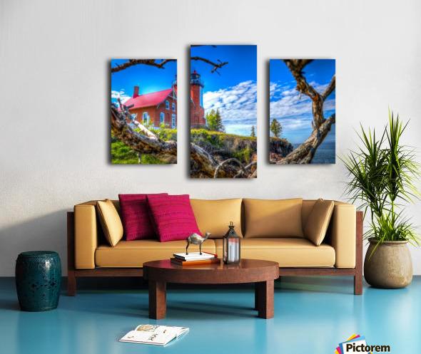Lake Superior Lighthouse Canvas print