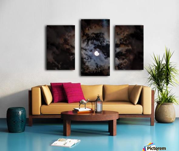 2017 Eclispe Canvas print