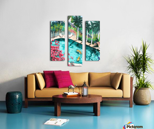 Luxury Villa Canvas print