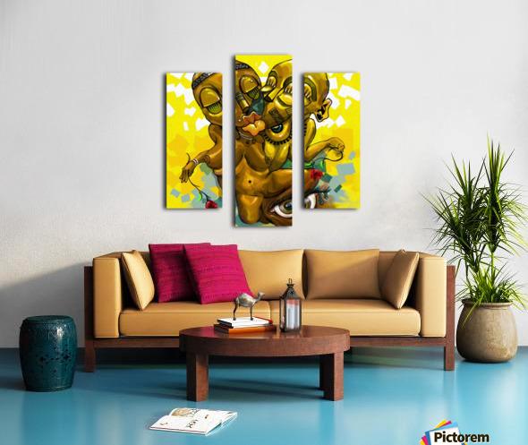 PARABLE LOVE Canvas print