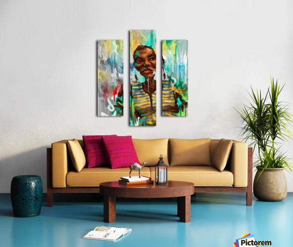 OPIDF Canvas print