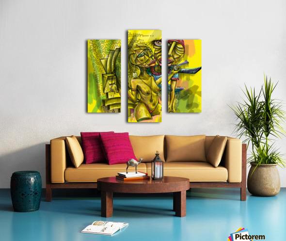 SACRIFICE FOR LOVE Canvas print
