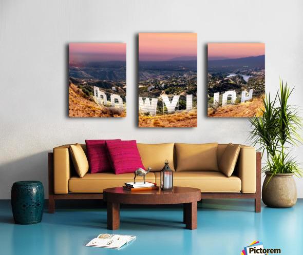 hollywood_DSC1343 Pano3 Canvas print