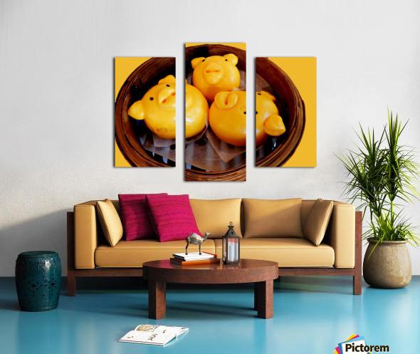Piggy Bread Canvas print