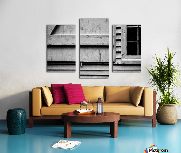 Shutter and Panes Canvas print