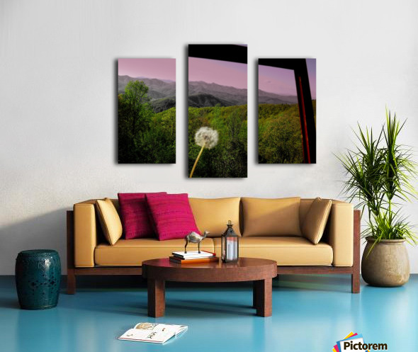 Alone yet Connected Canvas print