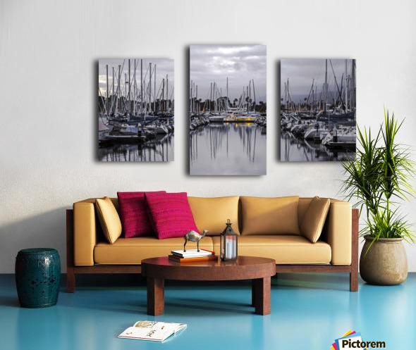 Boat Mess Canvas print