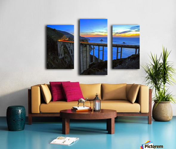 Bixby Blues Canvas print