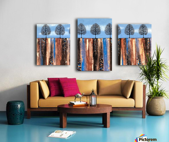 Trees Of Winter Canvas print