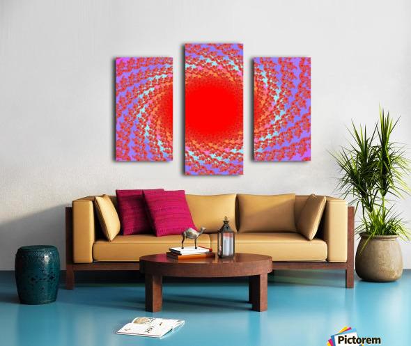 A Sun Burst In Spring 1 Canvas print