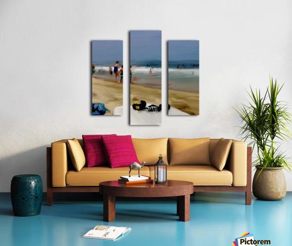Beach at 52nd Street Canvas print