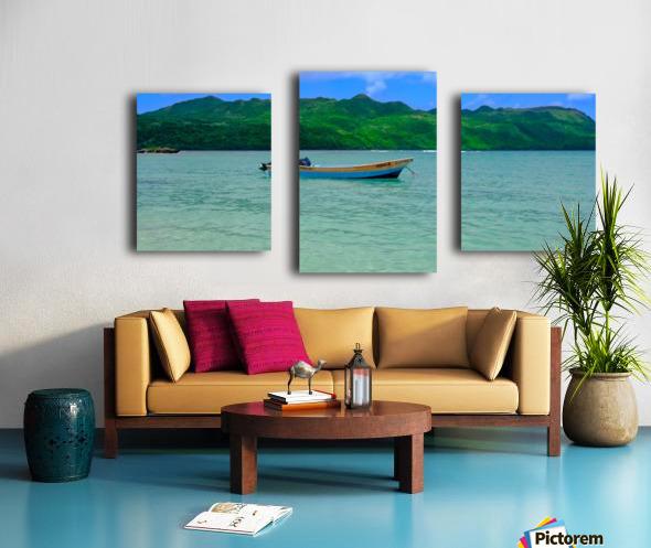 Samana Beach - Playa Rincon  Canvas print