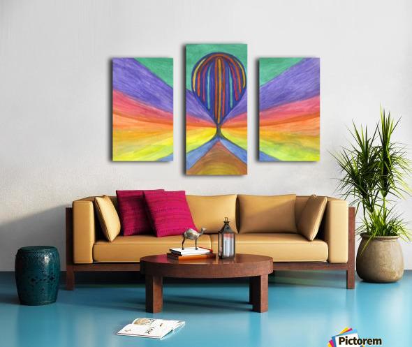 Abstraction flight Canvas print
