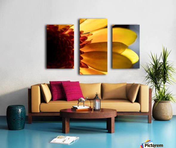 Jaune 3 Canvas print