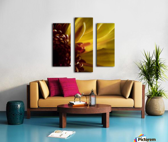 Jaune 2 Canvas print