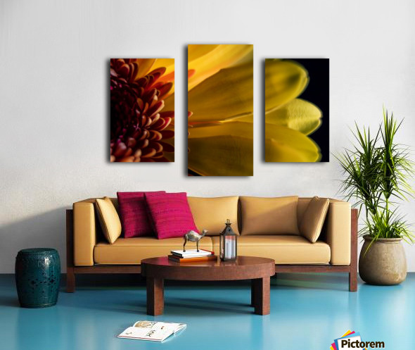 Jaune 1 Canvas print
