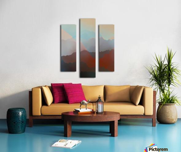 Beautiful Mountains 2 Canvas print