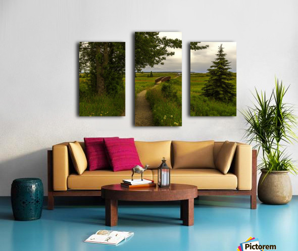 Walking Home Canvas print