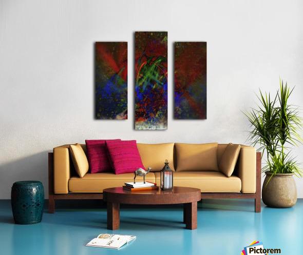 Pollock Canvas print