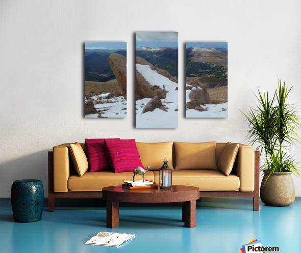 Pikes Peak Colorado  Canvas print