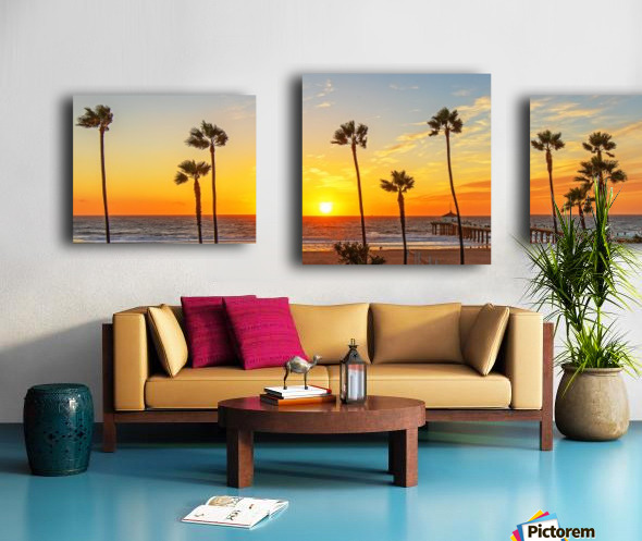 Kalifornikation Canvas print