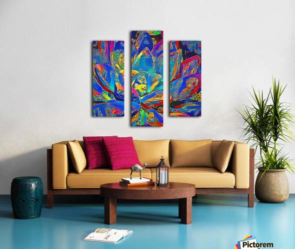 Succulent Jamboree Canvas print