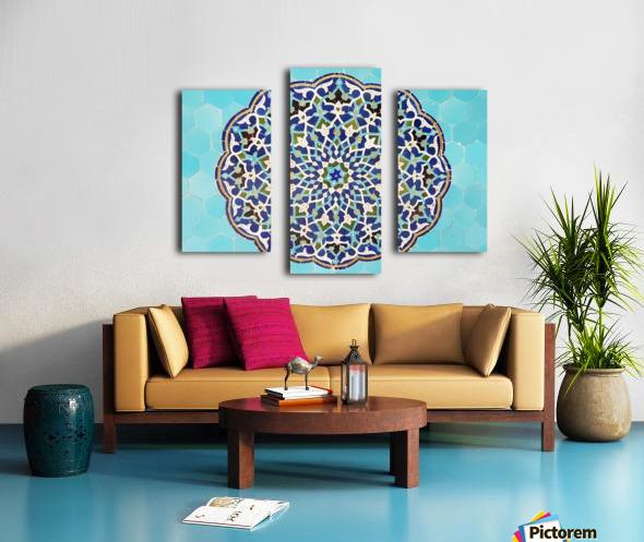 Yazd   Jameh mosque 2 Canvas print