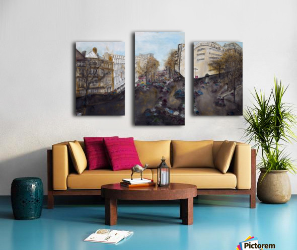 Buildings_High_Res Canvas print