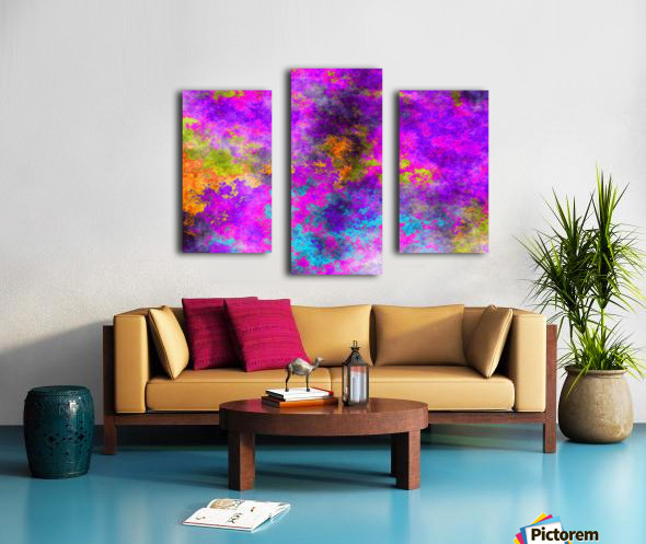 Plasma Light 5 Canvas print