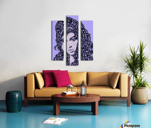 Amy Winehouse2 Canvas print