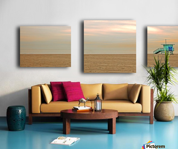 Beachbum blues Canvas print