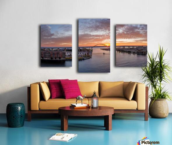 Sunrise Over Hoan Impression sur toile