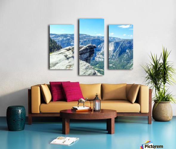 Glacier Point Yosemite Falls Canvas print