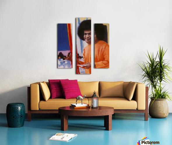 Sathya Sai Baba Canvas print