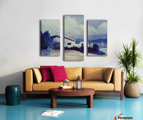 Prairie House Canvas print