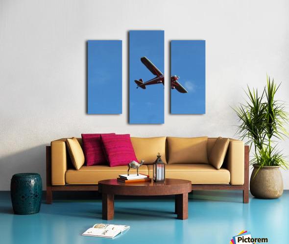 Flyover the  Prairie Canvas print