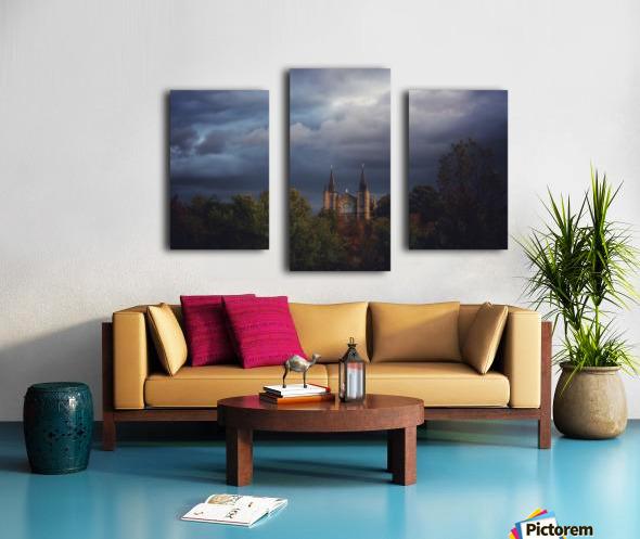 Divine Light Canvas print