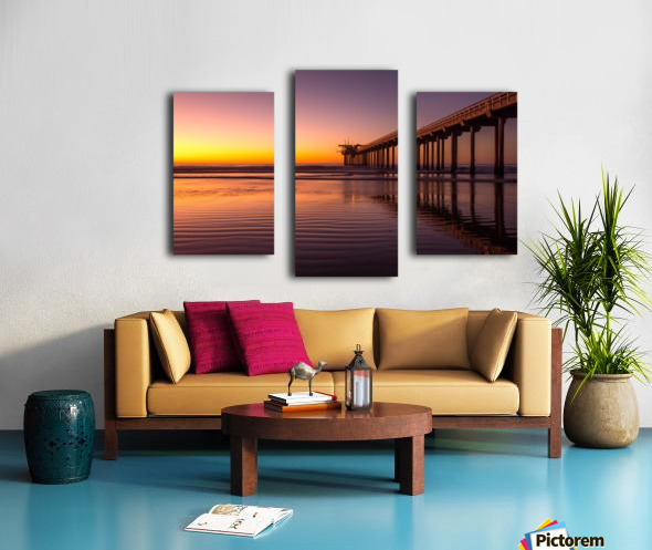 Final Dream Canvas print