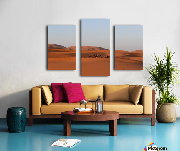 Merzouga sunrise Impression sur toile