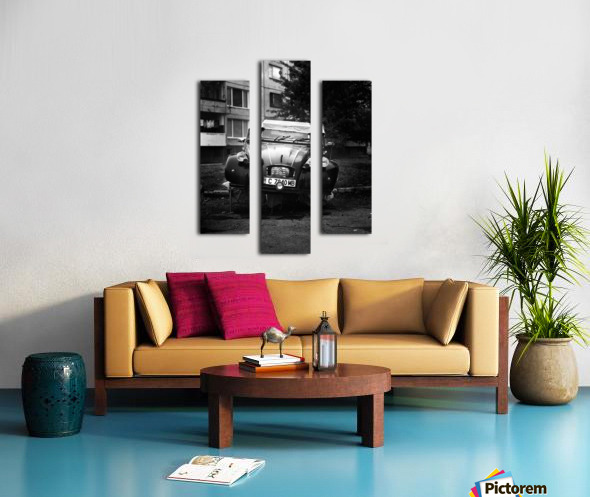 CITROEN Canvas print