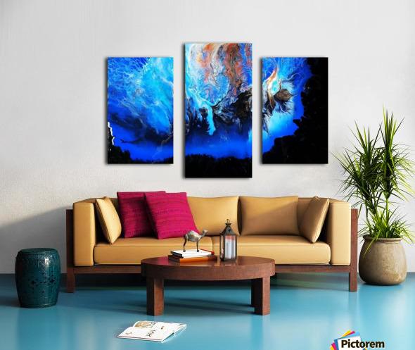 In heaven Canvas print