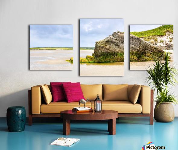 Rock Formations - Maghera Beach 6 Canvas print