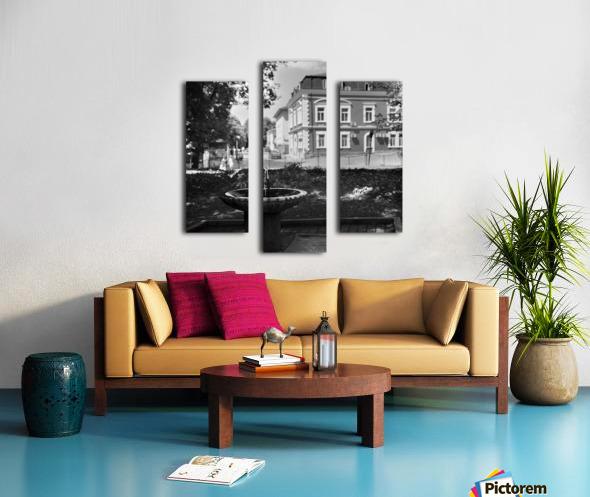 City Faucet Canvas print