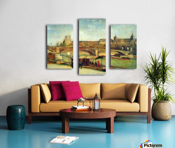 Bologne by Van Gogh Canvas print