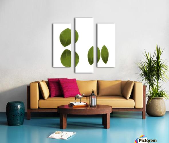 4 Leaves Canvas print
