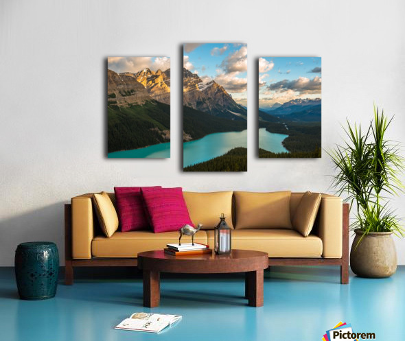 Peyto Lake 2 Canvas print