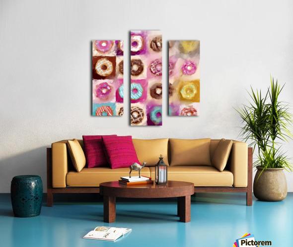 Donut Series No 1 Canvas print