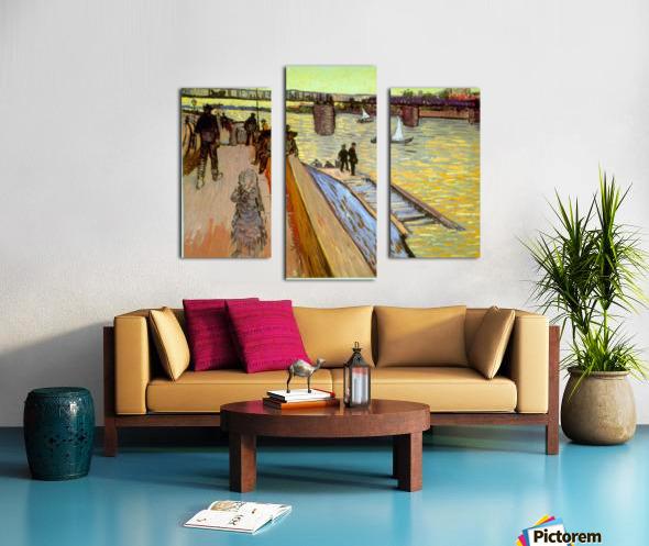 Bridge by Van Gogh Canvas print