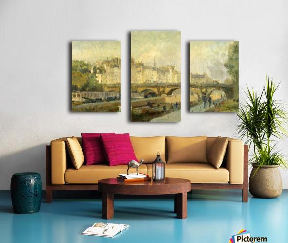 Le Pont Neuf Canvas print